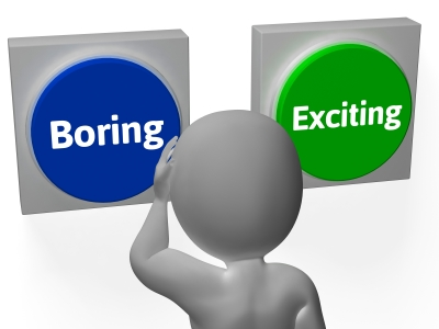Boring or Exciting choice