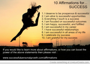 10 successful affirmations