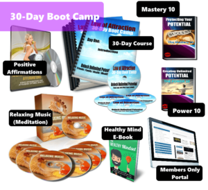 Law of Attraction 30 Day Boot Camp (2016 Review & Bonuses)